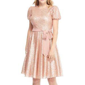 Gal Meets Glam Beatrix Sequin Crush Dress Size 2